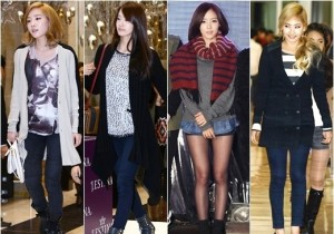 Girl's Generation - Wonder Girls - T-ara, Follow Girl Group Fashion