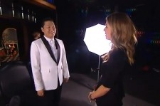 Psy Appears on