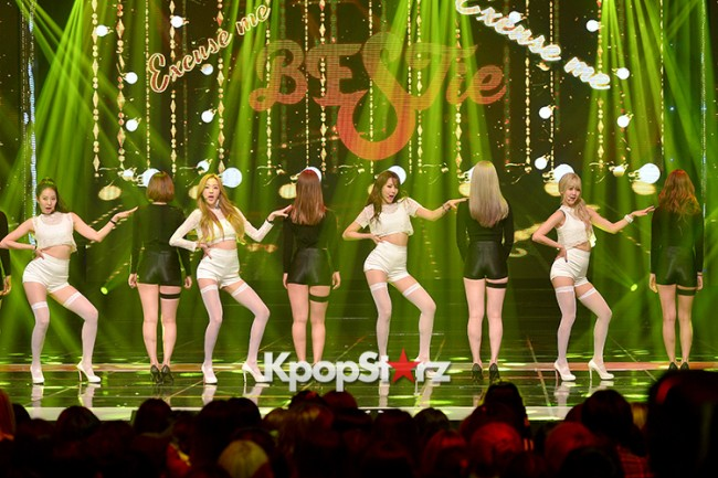 BESTie [Excuse Me] at MBC Music Show Championkey=>5 count11