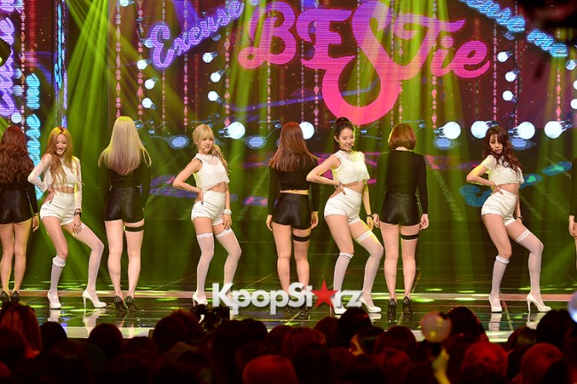 BESTie [Excuse Me] at MBC Music Show Championkey=>6 count11
