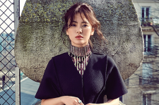 Korean Actress Song Hye Kyo Dior Pre-Fall Elle Magazine June 2015 Photoshoot Fashion