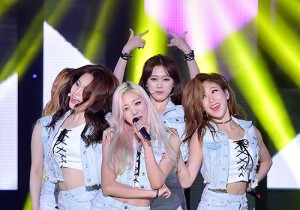 Melody Day [Love Me] at SBS MTV 'THE SHOW All About K-pop'
