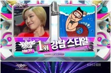 Psy Wins 'Music Bank' 6 Weeks in a Row