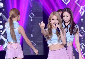 KARA [CUPID] at SBS MTV 'THE SHOW All About K-pop'