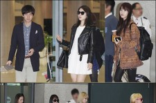 Lee Seung Gi-IU-2NE1-SISTAR, Stars Unique Airport Fashion
