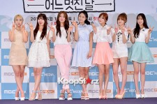 AOA at a Press Conference of MBC Music 'One Fine Day'