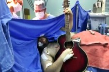 Brain Surgery Patient Plays Guitar And Sings The Beatles During Procedure