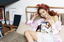 Son Dam Bi Cosmopolitan Magazine June 2015 Photoshoot Sergio Rossi