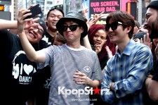 Epik High Shock Fans At A Flash Mob In New York City - June, 10 2015 [PHOTOS]