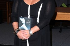 E.L. James at a 2012 book signing.