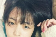 f(x) Sulli' Reveals her No Make-Up Face Picture, 'Innocent'