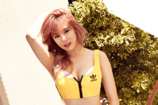 SECRET Jun HYosung cosmopolitan Magazine July 2015 Photoshoot
