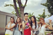 Red Velvet and SHINee Key