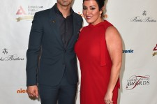 Joe Jonas and Denise Jonas attend The American Diabetes Association's Father of the Year Awards on June 18.