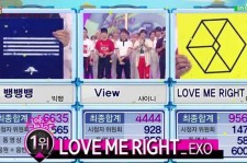 EXO wins on 'Music Core'