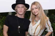 Cody Simpson and Gigi Hadid at a Coachella party.