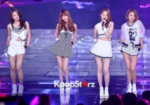Melody Day [Love Me] at MBC Music Show Champion
