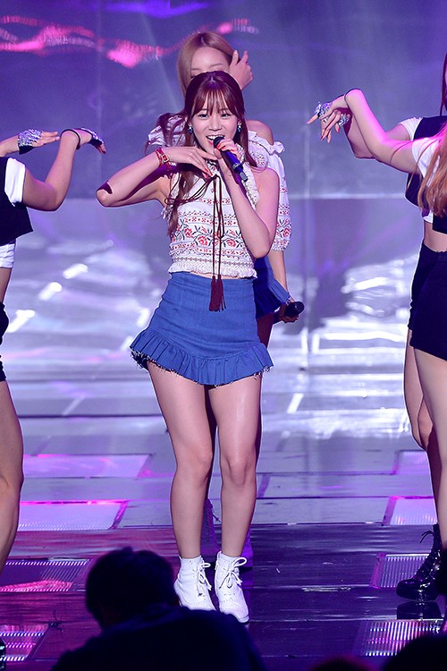 Kara [Starlight, CUPID] at SBS MTV 'THE SHOW All About K-pop'key=>8 count10