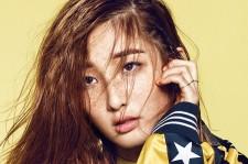 4minute nam jihyun the celebrity magazine 2015 photoshoot adidas