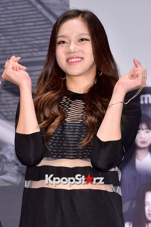 2EYES's Daeun at a Press Conference of MBC Every1 'Her Secret Weapon'key=>0 count9