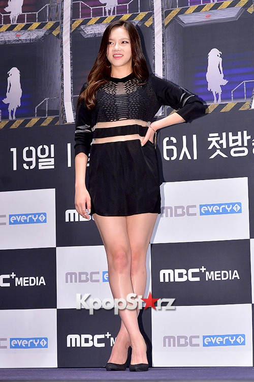 2EYES's Daeun at a Press Conference of MBC Every1 'Her Secret Weapon'key=>8 count9