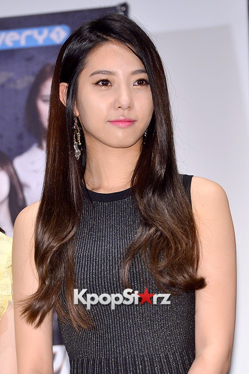 BESTie's Dahye at a Press Conference of MBC Every1 'Her Secret Weapon'key=>1 count9