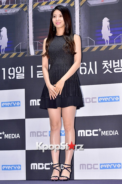 BESTie's Dahye at a Press Conference of MBC Every1 'Her Secret Weapon'key=>4 count9