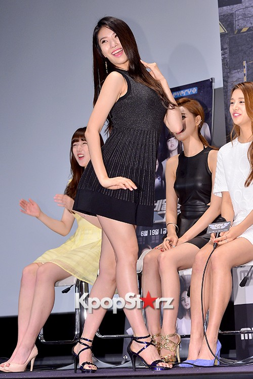 BESTie's Dahye at a Press Conference of MBC Every1 'Her Secret Weapon'key=>5 count9