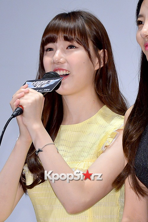 GFRIEND's Yerinn at a Press Conference of MBC Every1 'Her Secret Weapon'key=>10 count12