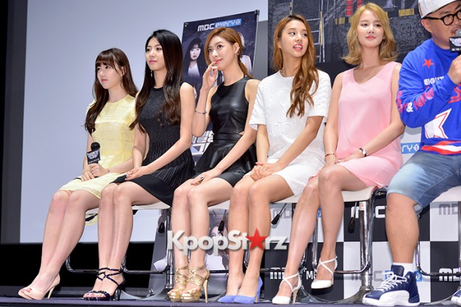 Press Conference of MBC Every1 'Her Secret Weapon'key=>11 count24