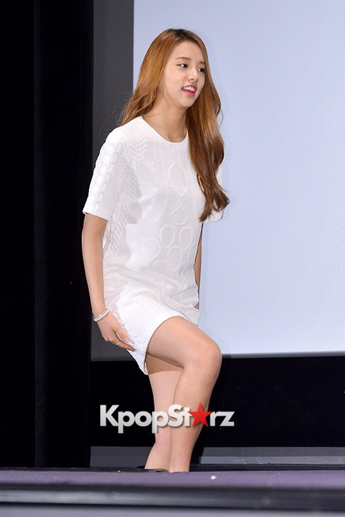 LABOUM'S Solbin at a Press Conference of MBC Every1 'Her Secret Weapon'key=>1 count12