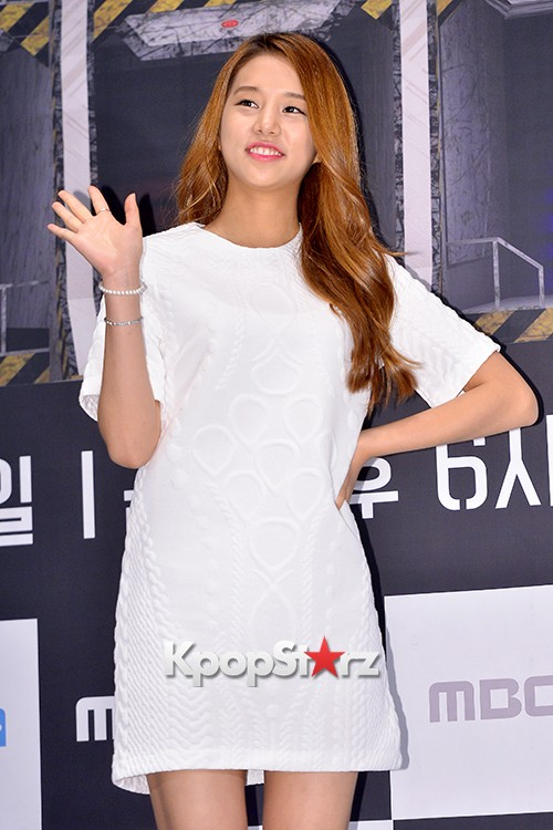LABOUM'S Solbin at a Press Conference of MBC Every1 'Her Secret Weapon'key=>2 count12