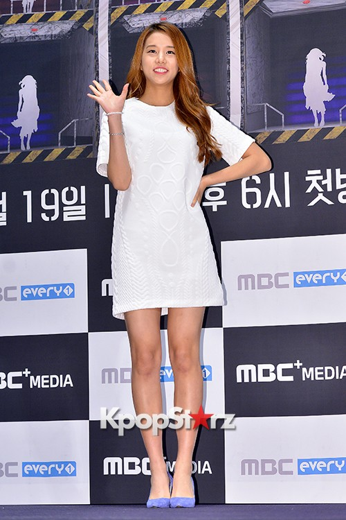 LABOUM'S Solbin at a Press Conference of MBC Every1 'Her Secret Weapon'key=>3 count12