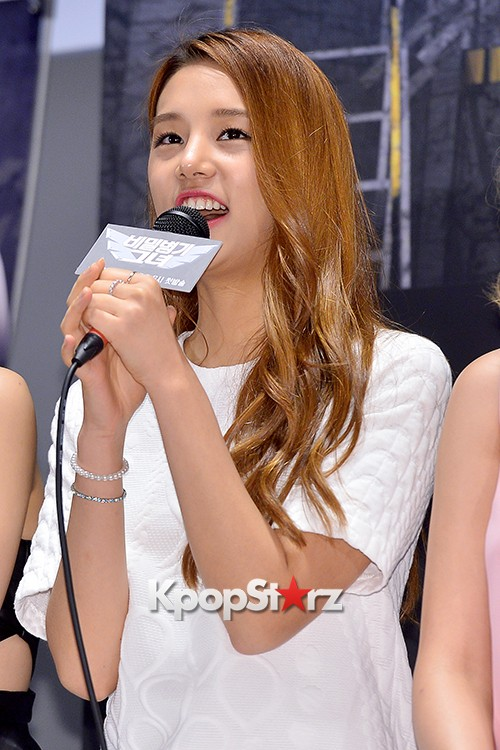 LABOUM'S Solbin at a Press Conference of MBC Every1 'Her Secret Weapon'key=>4 count12