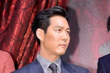 Lee Jung Jae at a Press Conference of Upcoming Film 'Assassination'