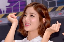 TAHITI's Jisoo at a Press Conference of MBC Every1 'Her Secret Weapon'
