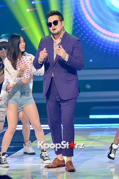 Kim Tae Woo [Lonely Funk] at MBC Music Show Championkey=>11 count13
