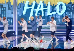 HALO [While You're Sleeping] at MBC Music Show Champion