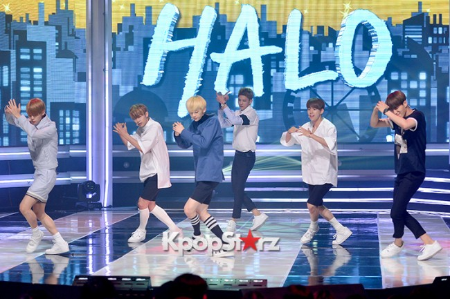 HALO [While You're Sleeping] at MBC Music Show Championkey=>0 count11