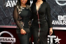 Nicki Minaj and her mom