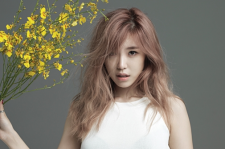 SECRET's Hyosung In GQ Magazine July 2015 Photoshoot