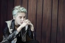 JYJ Junsu Scene Playbill Magazine July 2015 Photoshoot