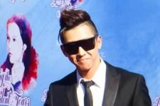 Brian Joo at Loving the Silent Tears Red Carpet