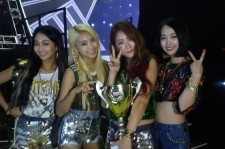 SISTAR wins their fourth trophy on 'Show Champion'