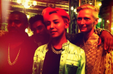 G-Dragon with Kanye West