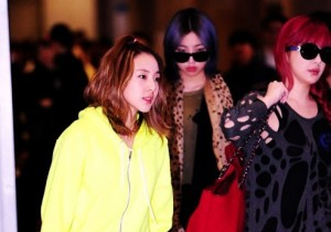 2NE1 Airport Fashion
