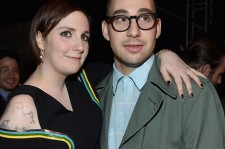 Lena Dunham and Jack Antonoff.