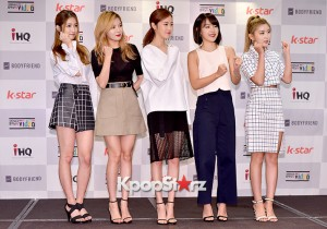 4Minute Attends a Video Press Conference - Jul 6, 2015