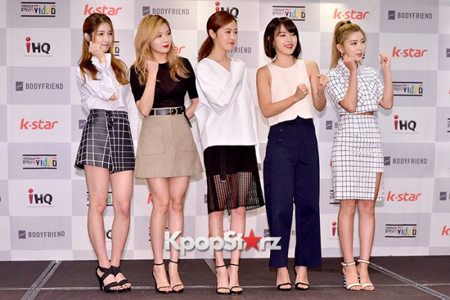 4Minute Attends a Video Press Conference - Jul 6, 2015key=>0 count56