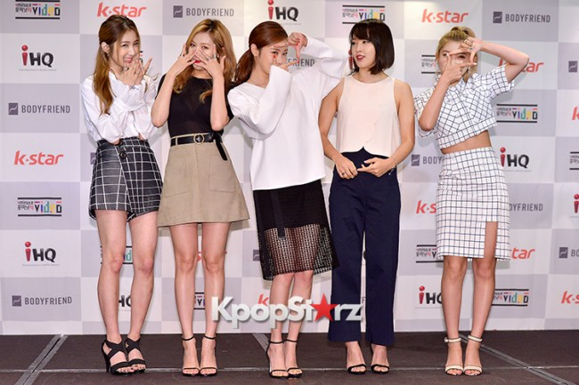 4Minute Attends a Video Press Conference - Jul 6, 2015key=>18 count56